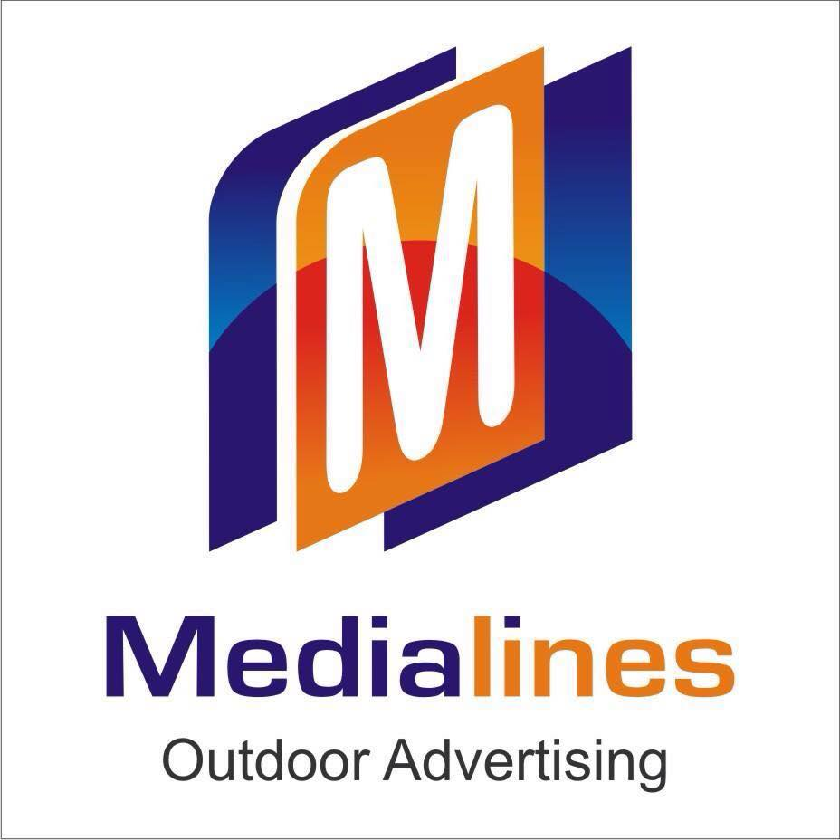 Media Lines Outdoor Advertising Logo