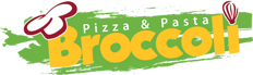 Broccoli Pizza & Pasta Logo
